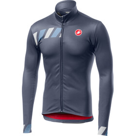 Castelli Pisa Full-Zip Jersey Men dark/steel blue